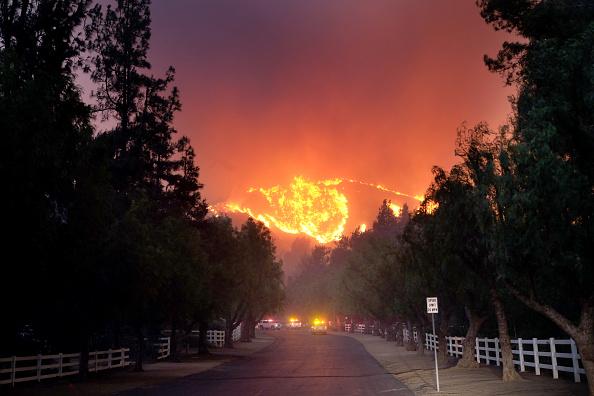 Foto: El incendio en Paramount Ranch, 7 junio 2019