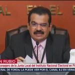 FOTO: INE en Puebla oficializa inicio de elección extraordinaria, 2 Junio 2019