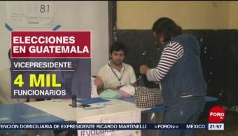 FOTO: Inicia el conteo de los votos en Guatemala, 16 Junio 2019