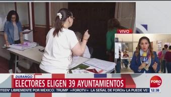 FOTO: Instalan 95% de las casillas electorales en Durango, 2 Junio 2019