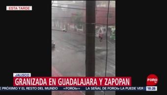 FOTO: Intensa granizada azota Guadalajara y Zapopan, 16 Junio 2019
