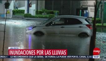 Foto: Inundaciones por lluvias en Guadalajara