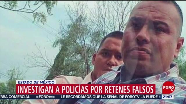 Foto: Policías Montar Retenes Falsos Satelite 27 Junio 2019