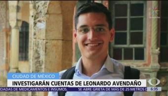 Investigará PGJCDMX finanzas de Leonardo Avendaño