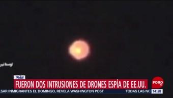 FOTO: Irán: Fueron dos intrusiones de drones espía de EU, 23 Junio 2019