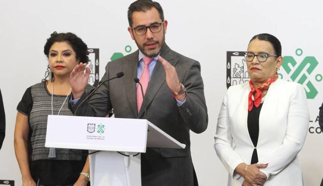 Foto: El secretario de Seguridad Ciudadana de la Ciudad de México, Jesús Orta, el 8 de junio de 2019 (Notimex)