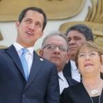 Foto: Juan Guaidó se reúne con Michelle Bachelet, 21 de junio de 2019, Caracas