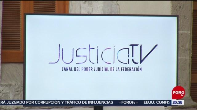 Foto: Justicia Tv Nuevo Canal Televisión Poder Judicial 19 Junio 2019