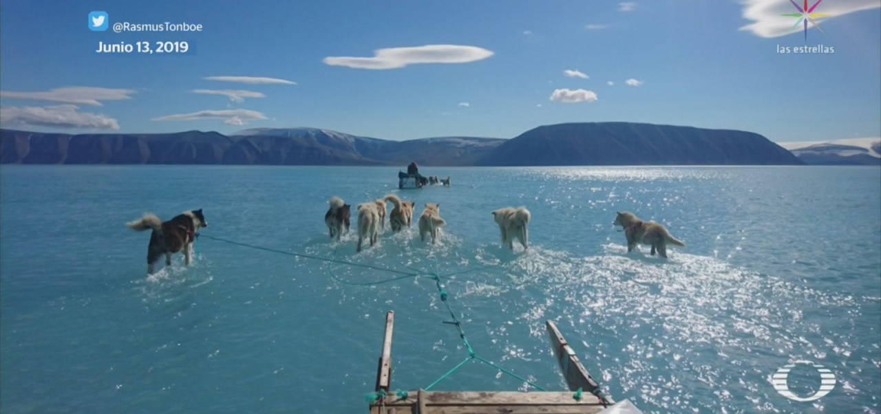 Foto: Foto Retrata Deshielo Groenlandia 18 Junio 2019