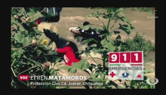 Foto: Campaña Advertir Migrantes Riesgos Cruzar Río Bravo 26 Junio 2019