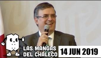 Foto: Las Mangas del Chaleco 14 Junio 2019