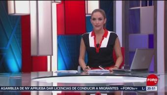 Foto: Las Noticias Danielle Dithurbide Forotv 13 Junio 2019