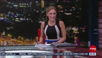Foto: Las Noticias Danielle Dithurbide Forotv 6 Junio 2019