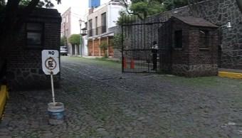 Foto: Se trata de la calle Ignacio Allende donde vive la alcaldesa de Tlalpan, 30 de junio de 2019. (Noticieros Televisa)