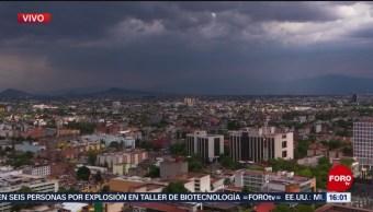 Foto: Llueve al oriente de la Ciudad de México