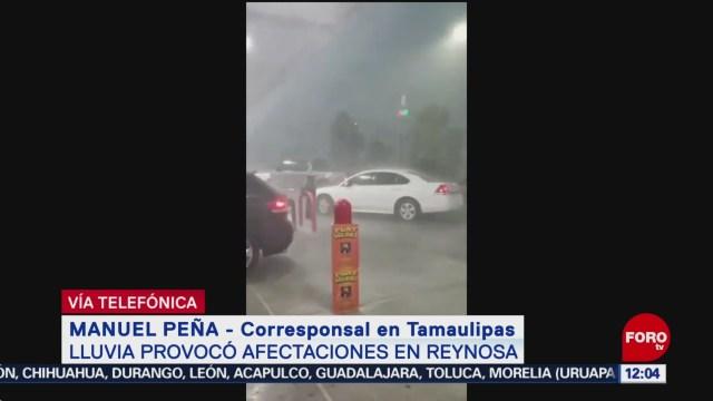 Lluvias en Reynosa provocan la muerte de una persona