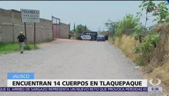 Localizan 15 bolsas con restos humanos en Tlaquepaque, Jalisco