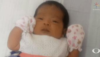 FOTO Localizan a bebé recién nacida robada en Naucalpan (Noticieros Televisa 2019)
