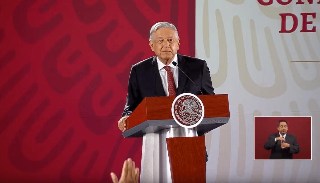 Foto: López Obrador en conferencia de prensa, 3 de junio de 2019, Ciudad de México