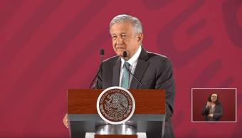 Foto: El presidente de México, Andrés Manuel López Obrador, en conferencia de prensa, 18 de junio de 2019, Ciudad de México