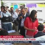 """FOTO: """"Los dados están cargados hacia un candidato"""", dice Alberto Jiménez Merino, 2 Junio 2019"""