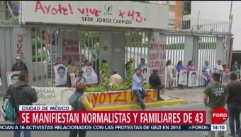 Foto: Lunes de marchas y protestas en la CDMX