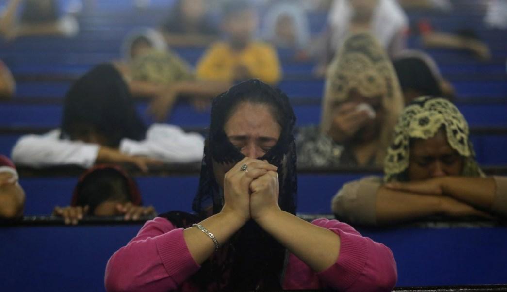 FOTO Iglesia Luz del Mundo denuncia discriminación contra sus fieles, algunos niños que sufren acoso escolar (EFE 5 junio 2019 guadalajara)