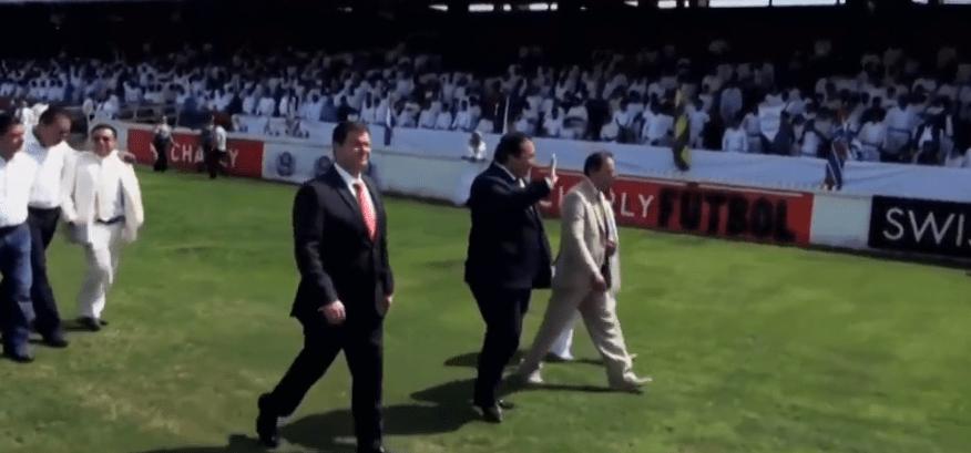 FOTO Luz del Mundo y sus vínculos con políticos mexicanos (Noticieros Televisa Veracruz 2015)