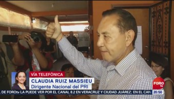FOTO: Mantendremos el nivel de votación de 2018: Ruiz Massieu, 2 Junio 2019