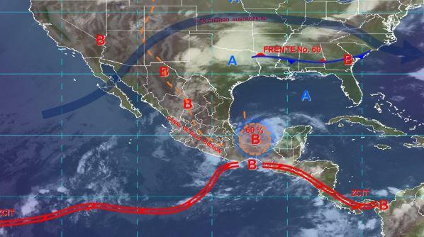 Foto: Imagen de fenómenos meteorológicos significativos de las 06:00 horas, 2 junio 2019