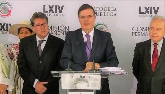 Ebrard califica de inédito el encuentro con la Comisión Permanente sobre acuerdo migratorio con EU