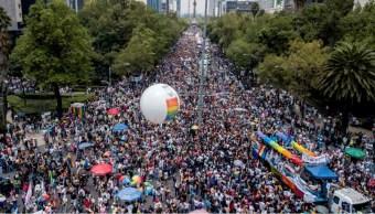 Foto: Las autoridades capitalinas implementan un operativo vial por los cortes a la circulación en Paseo de la Reforma y en las inmediaciones del Zócalo, el 29 de junio de 2019 (AP)