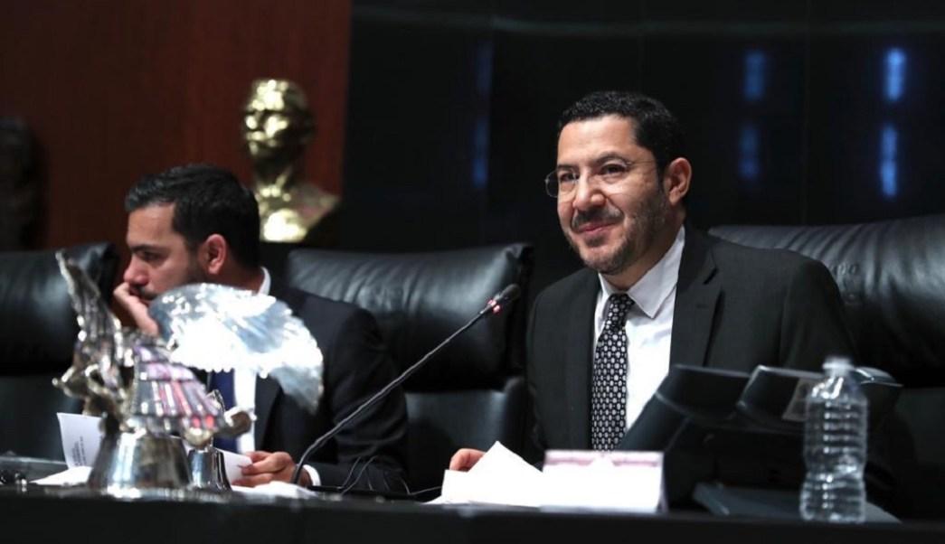 Martí Batres quiere reelegirse como presidente del Senado