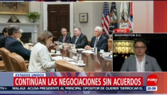 Foto: México Estados Unidos Negociaciones Aranceles 6 Junio 2019