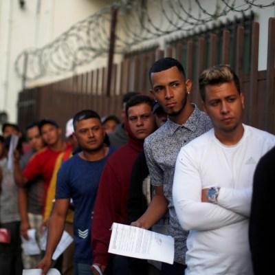Esperan 11 mil migrantes en México asilo de Estados Unidos