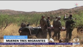 Mueren tres migrantes más en frontera para llegar a EU