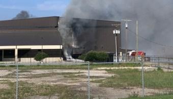 Foto: Una avioneta se estrelló en Texas, Estados Unidos; hay 10 personas muertas, junio 30 de 2019 (Twitter: @ctfirephoto)