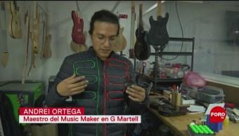 FOTO: Músicos mexicanos aprenden a hacer sus propios instrumentos, 29 Junio 2019