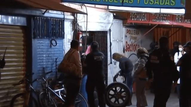 FOTO Semar y Policía Federal capturan a narcomenudistas en Coyoacán (Noticieros Televisa 13 junio 2019 cdmx)