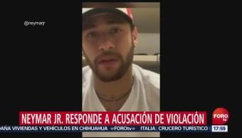 FOTO: Neymar se defiende de acusaciones de violación en su contra, 2 Junio 2019