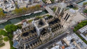 Notre Dame celebra este domingo su primera misa tras el incendio