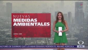 Nuevas medidas para mejorar calidad del aire en Valle de México
