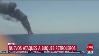 Foto: Nuevos Ataques Buques Petroleros Irán 13 Junio 2019