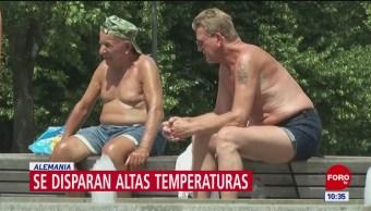 Ola de calor afecta a países europeos
