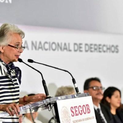 Olga Sánchez Cordero no sabe por dónde entraron miles de migrantes