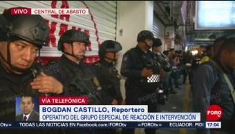 Foto: Operativo contra venta de cigarrillos apócrifos en Central de Abasto