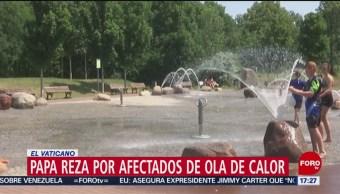 FOTO: Papa reza por quienes sufren ola de calor en Europa, 30 Junio 2019