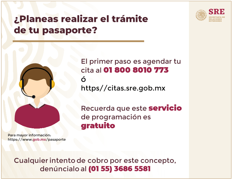 foto pasaporte mexico 30 junio 2019