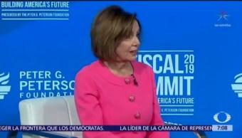 Pelosi: acuerdo con México es una distracción de Trump