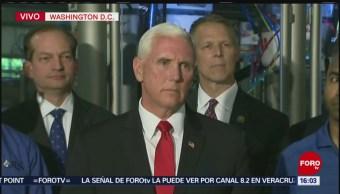 FOTO: Pence afirma que propuestas que presenta México no son suficientes